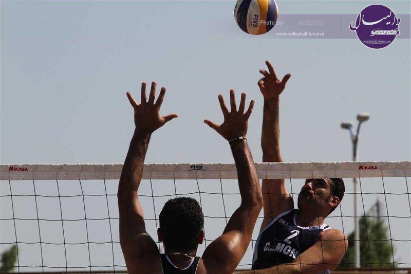 ملی پوشان، با انگیزه در اردوی والیبال ساحلی