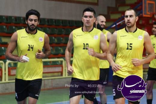 آخرین اخبار از روند آماده سازی تیم والیبال شهرداری تبریز