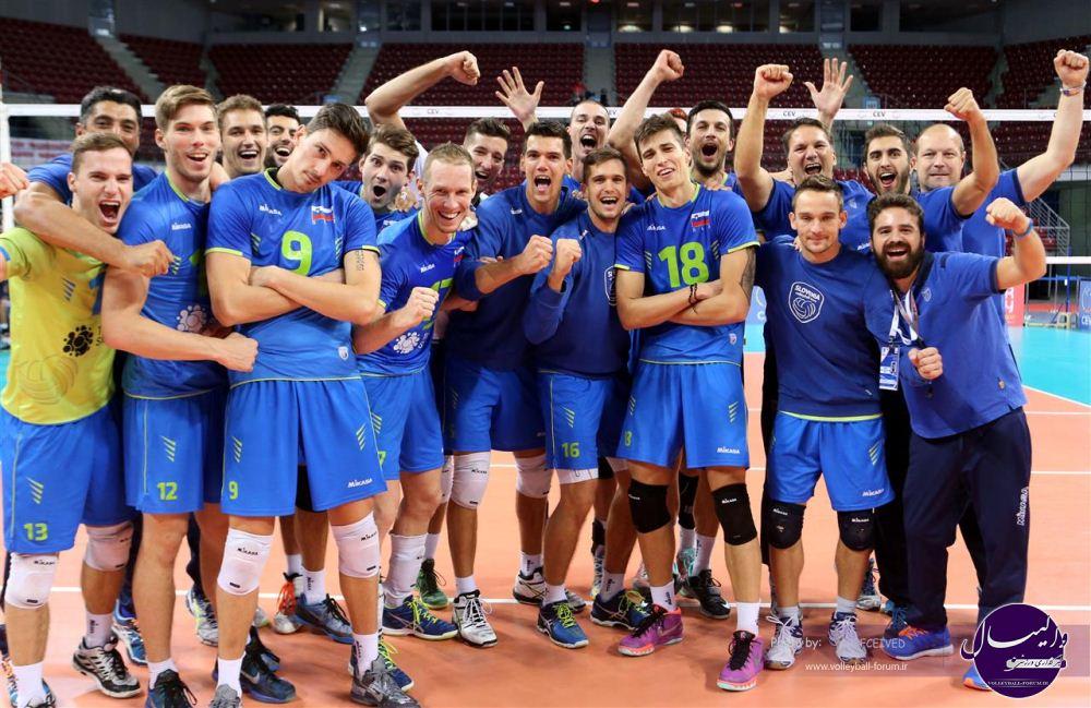 قهرمانی والیبال اروپا ۲۰۱۵: اسلوونی (۳)-لهستان (۲)/ لهستان المپیک را از دست داد