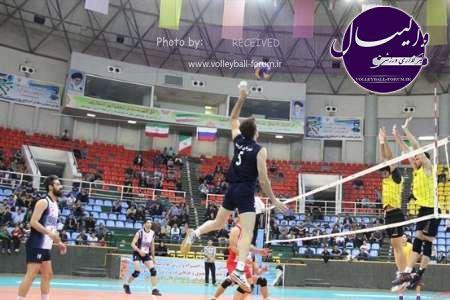 دربی والیبال آذربایجان به نفع ارومیه پایان یافت