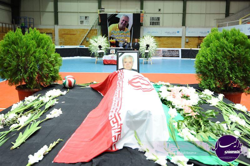 آخرین وداع حاجی ستوده با خانه والیبال+عکس