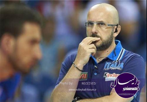 سرمربی سابق تیم ملی والیبال ایتالیا: هدایت ایران افتخار بزرگی است