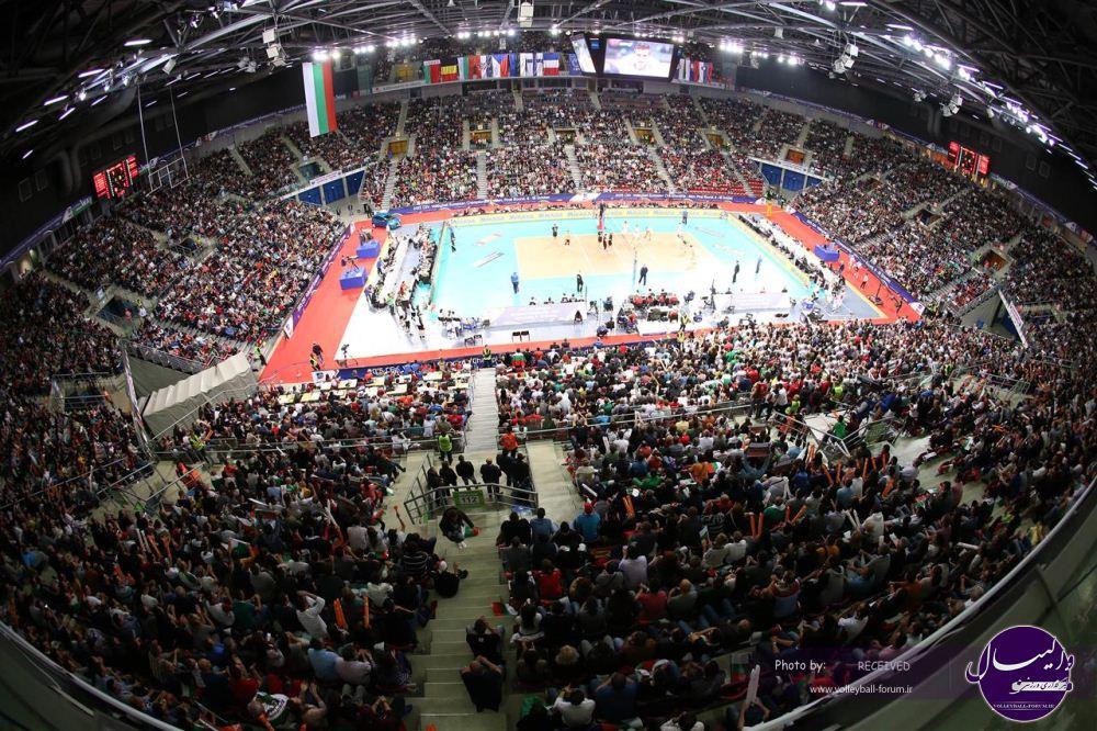 مرحله نهایی والیبال قهرمانی مردان اروپا در شبکه ورزش