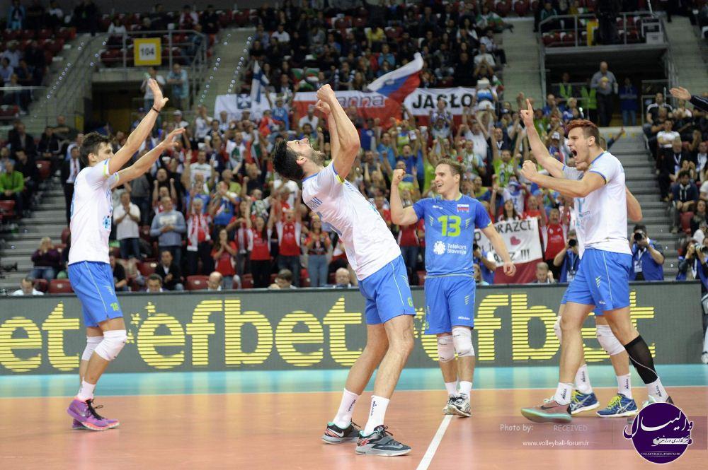 ایتالیای میزبان هم تسلیم اسلوونی شد