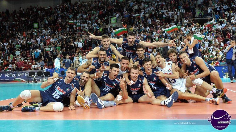 ایتالیا با شکست بلغارستان در رده سوم قرار گرفت