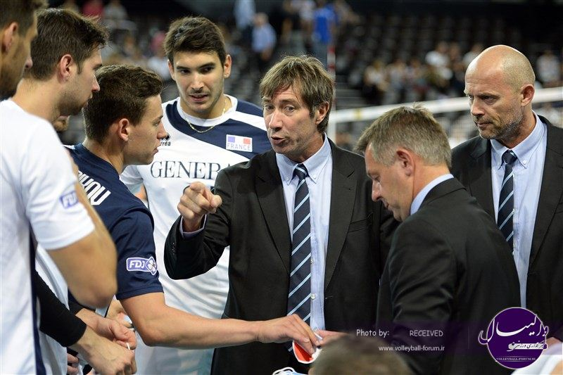 صحبتهای مربیان دو تیم فرانسه و اسلوونی بعد از بازی فینال