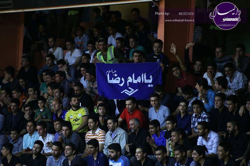 از تماشاگران هفته ی دوم لیگ برتر تشکر شد