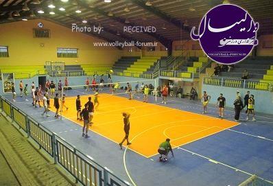 تمرینات تیم والیبال ترکمن صحرای آق قلا رسما آغاز شد