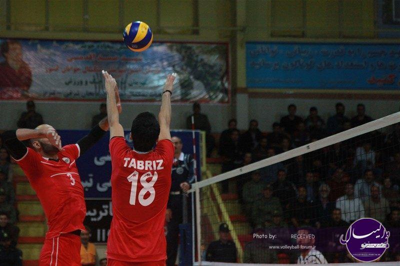 چهارمین برد شهرداری تبریز