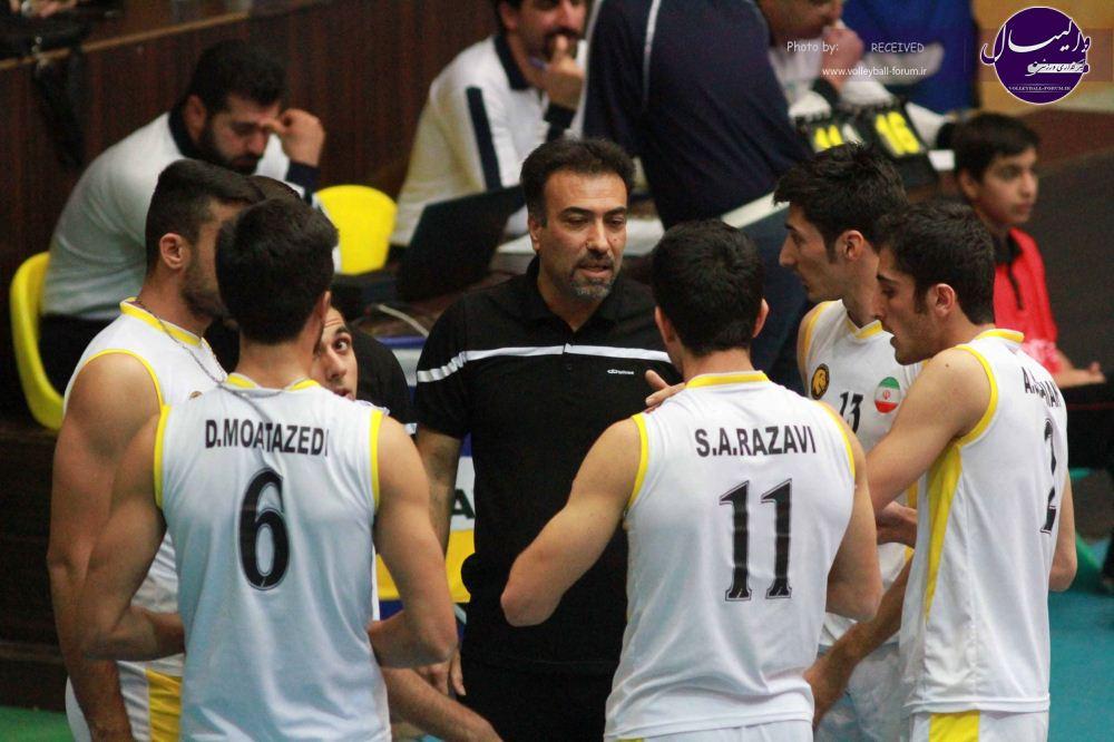تیم پارس مهرفارس درمسابقات والیبال دسته اول کشور پیروز شد
