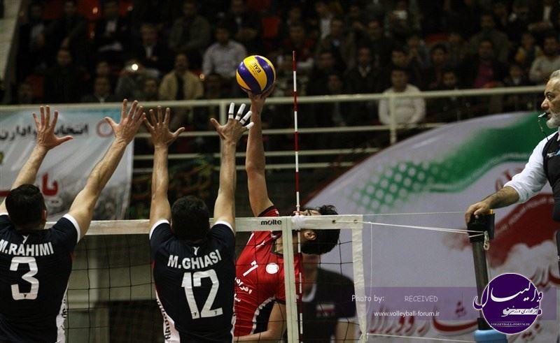 گزارش تصویری دیدار شهرداری ارومیه - آرمان ورزشی اردکان